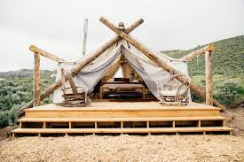 wall tent platform design glamping the 9 best resorts in the u s curbed