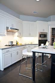kitchen floor white on black gallery also modern dark picture with