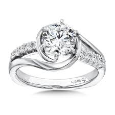 6 prong engagement ring caro74 modernistic collection 6 prong criss cross