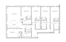 student apartment floorplans standard at knoxville