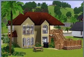 Home Design Games Like Sims Sims Beach House Design House Designs