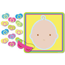 amazon com fun express baby word scramble baby shower game 24