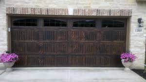 Dalton Overhead Doors Wood Grain Painting On Steel Garage Door 16x7 Wayne Dalton 9100