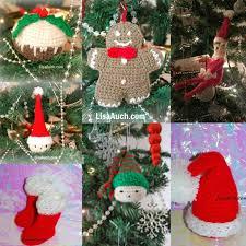 free crochet christmas tree patterns christmas lights decoration