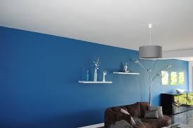 peinture bleu chambre peinture bleu canard dans mon séjour j ai osé photo
