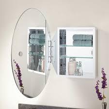 Bathroom Cabinet Mirrors Taussig Surface Mount Oval Medicine Cabinet Bathroom