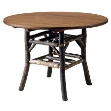 rustic roman round dining table 60 inch reclaimed furniture