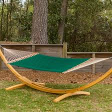 large quilted fabric hammock canvas forest green pawleys island