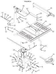 Ryobi 10 Inch Portable Table Saw Ryobi Bts10 Parts List And Diagram Ereplacementparts Com