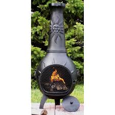 chiminea outdoor fireplace outdoor clay chiminea fireplace