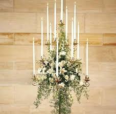 table candelabra centerpieces rental church wedding candelabras