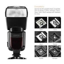 apeman sl350 speedlite flash for canon speedlight for nikon guide