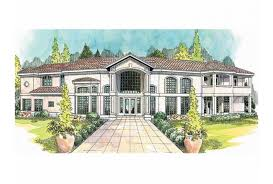 center courtyard house plans eplans mediterranean house plan grand mediterranean home with