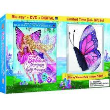 barbie mariposa u0026 fairy princess blu ray dvd digital copy