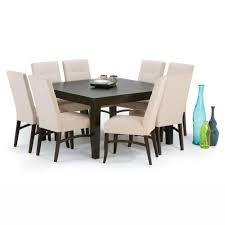 simpli home ezra 9 piece natural dining set axcds9ez nl the home