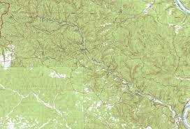 Rock Tunnel Leaf Green Map North Sylamore Creek Trail Ozark Mountains Arkansas
