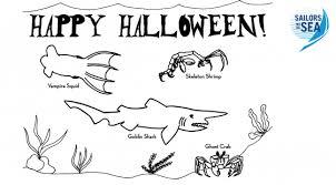 happy halloween sailors sea