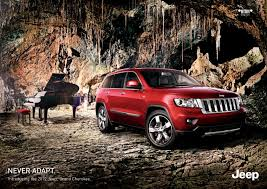 jeep cherokee ads jeep chrysler print advert by leo burnett never adapt 2 ads