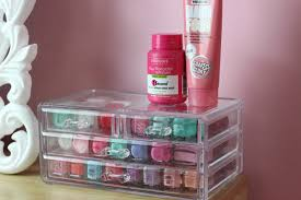 how i store my nail polishes everyday lauren