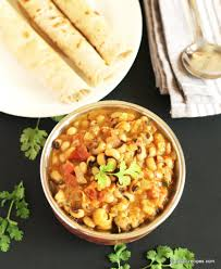 black eyed peas masala delicious chapati side dish udupi recipes