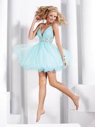 cross straps lovely affordable baby blue short prom dress