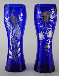 Cobalt Blue Vases Antique 10