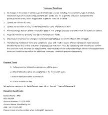Terms And Conditions 5 Terms And Conditions Marable Slab House
