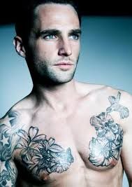 chest flowers tattoos for tattoos for