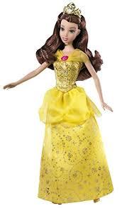 amazon disney sparkling princess belle doll toys u0026 games