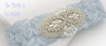 Wedding Garters Your Perfect U0027something Blue U0027 A Luxurious Silk Wedding Garter Boxed