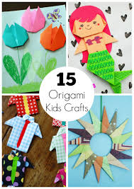 Paper Crafts - 15 origami paper crafts for to create make and takes