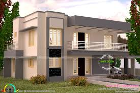 indian flat roof villa in home interior color villa roof design