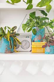 Upcycle Crafts - upcycle old cans into stylish copper planters upcycled crafts