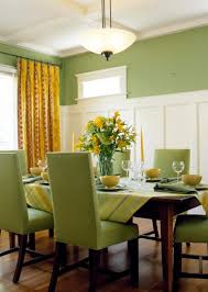 Dining Room Color Green Design Of Dining Room Green Paint And Texture Ideas For