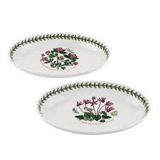 portmeirion botanic garden set of 2 oval dishes portmeirion usa