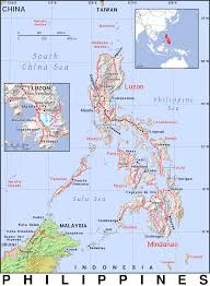 Map Of Phillipines Ph Philippines Public Domain Maps By Pat The Free Open