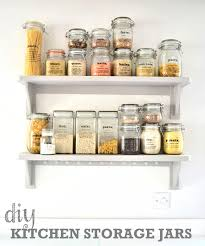 accessories storage jars for kitchen acrylic canisters clear