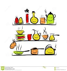 sketch of kitchen utensils crowdbuild for