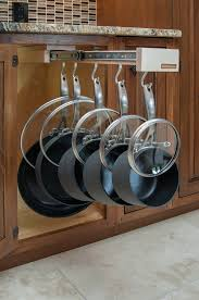 Kitchen Cabinet Organizing Ideas Www Glideware Com Great Way To Organize Your Pots Pans And Lids
