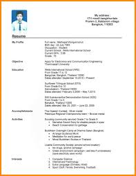 Resume Sample Uiuc by Sweet 8 Resume Sample For Students With No Experience Manager