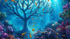 oceans nature beautiful sea green water oceans fish ocean scene