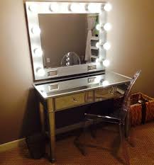 makeup mirror with led lights my diy vanity mirror after with led lights for a lot less than