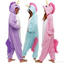 2018 happybuy kigurumi animal onesie rainbow pony onesie