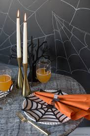 diy halloween place mats and napkin rings lia griffith