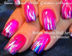 robin moses nail art striped spring nail art 2016 thats easy
