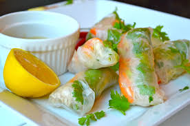 rice paper wrap and chili chicken rice wraps lean living girl