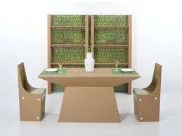arredo in cartone mobili in cartone materiale ecosostenibile per l eco design