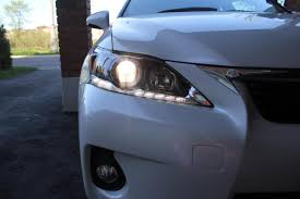 lexus ct200h headlight installed philips h11 crystalvision ultra headlights page 4