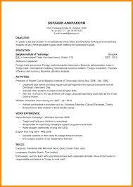 easy resume exles easy resume sles fungram co