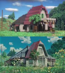 farm house minecraft totoro in minecraft album on imgur